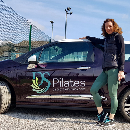 Ds Pilates Car Vinyls Embroidered Workwear